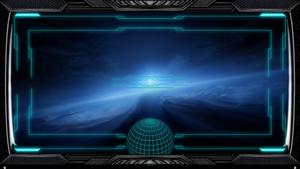 Stargate Interface Space Ship Wallpaper