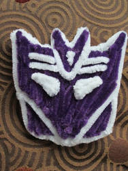 Pipe Cleaner Decepticon Logo