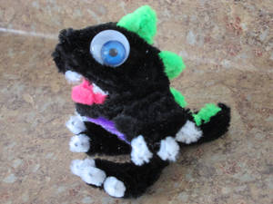Pipe Cleaner Baby Dragon