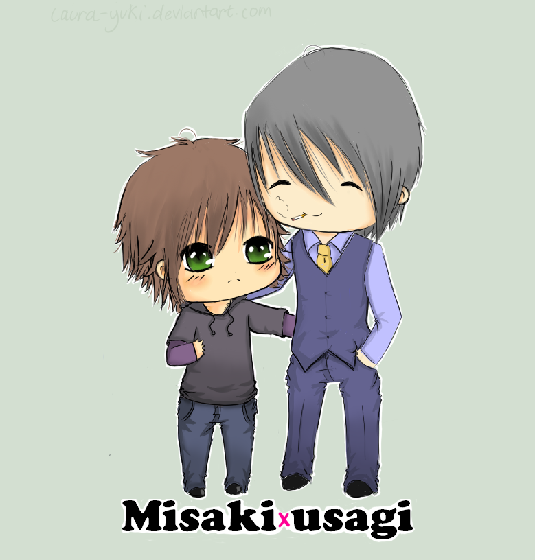 Misaki And Usagi misaki and usagi by la...