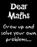 dear maths by craxyness