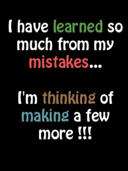 i have learned by craxyness