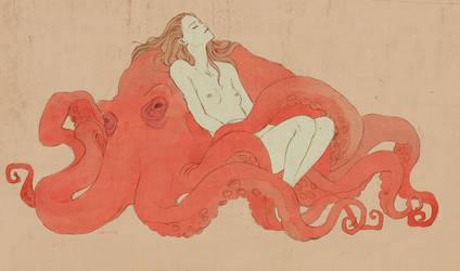 octopus by Shinne
