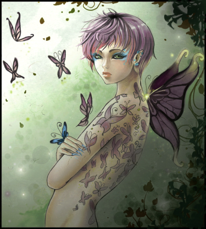 The Butterfly Collector - edit by Shinne