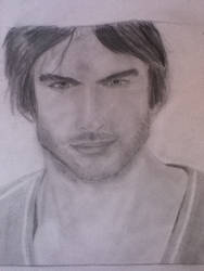Ian somerhalder damon salvatore by Vampirediaries27