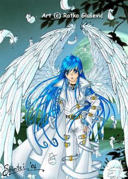 The saint of eternal blue