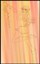 Lady Mytara doodle gift by Shintei-chan