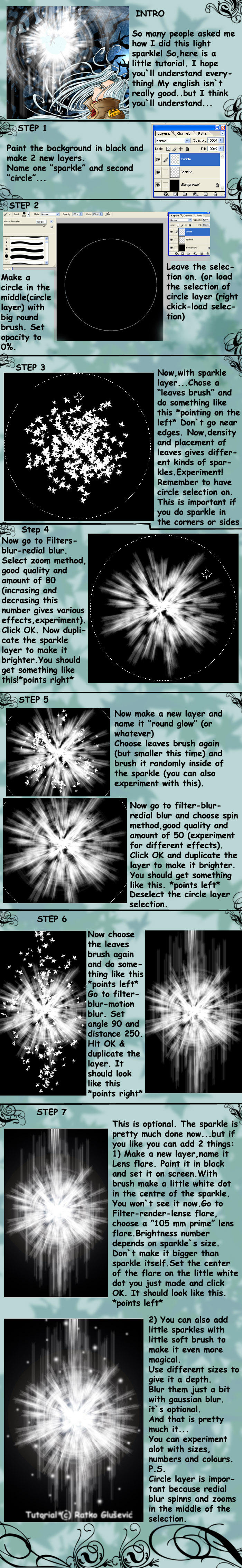 Light sparkle tutorial by Shintei-chan