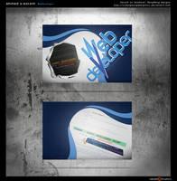 Webdeveloper - business card by xXBangBangDesignsXx