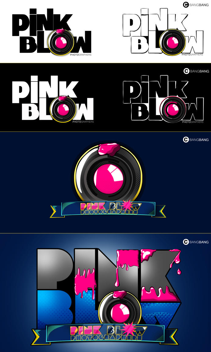 Pink Blow photographers by xXBangBangDesignsXx
