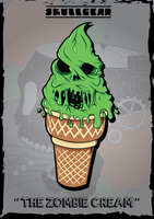 THE ZOMBIE CREAM by skullgearproduction
