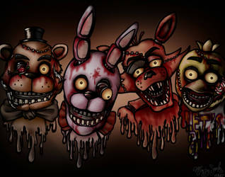 Five Nights At Freddy's (OLD) by SilentSheWhispers