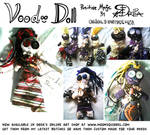 Positive Magic Voodoo Dolls by Moonsquirrel