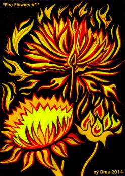 Fire Flowers #1