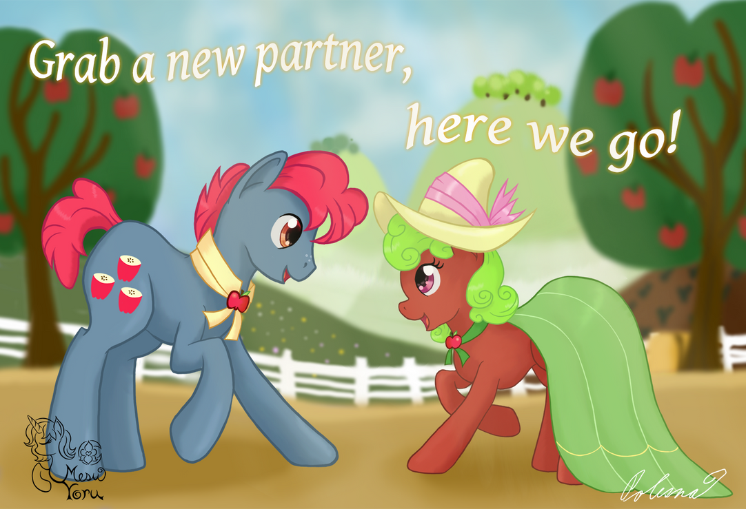 Grab a new partner, here we go! by MesuYoru