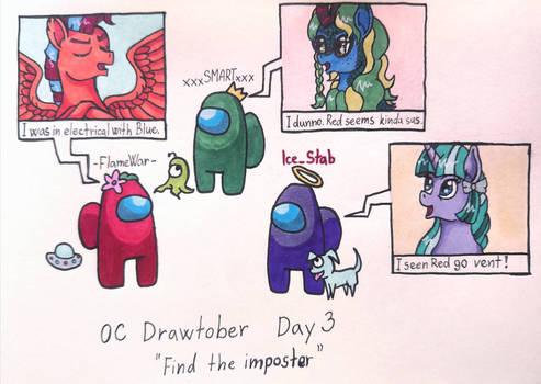 OC Drawtober day 3