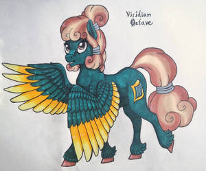 OC redesign - Viridian Octave
