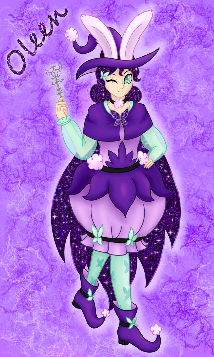 Oleen the Amethyst Witch