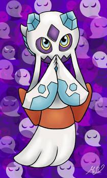 Poketober day 8 - Ghost