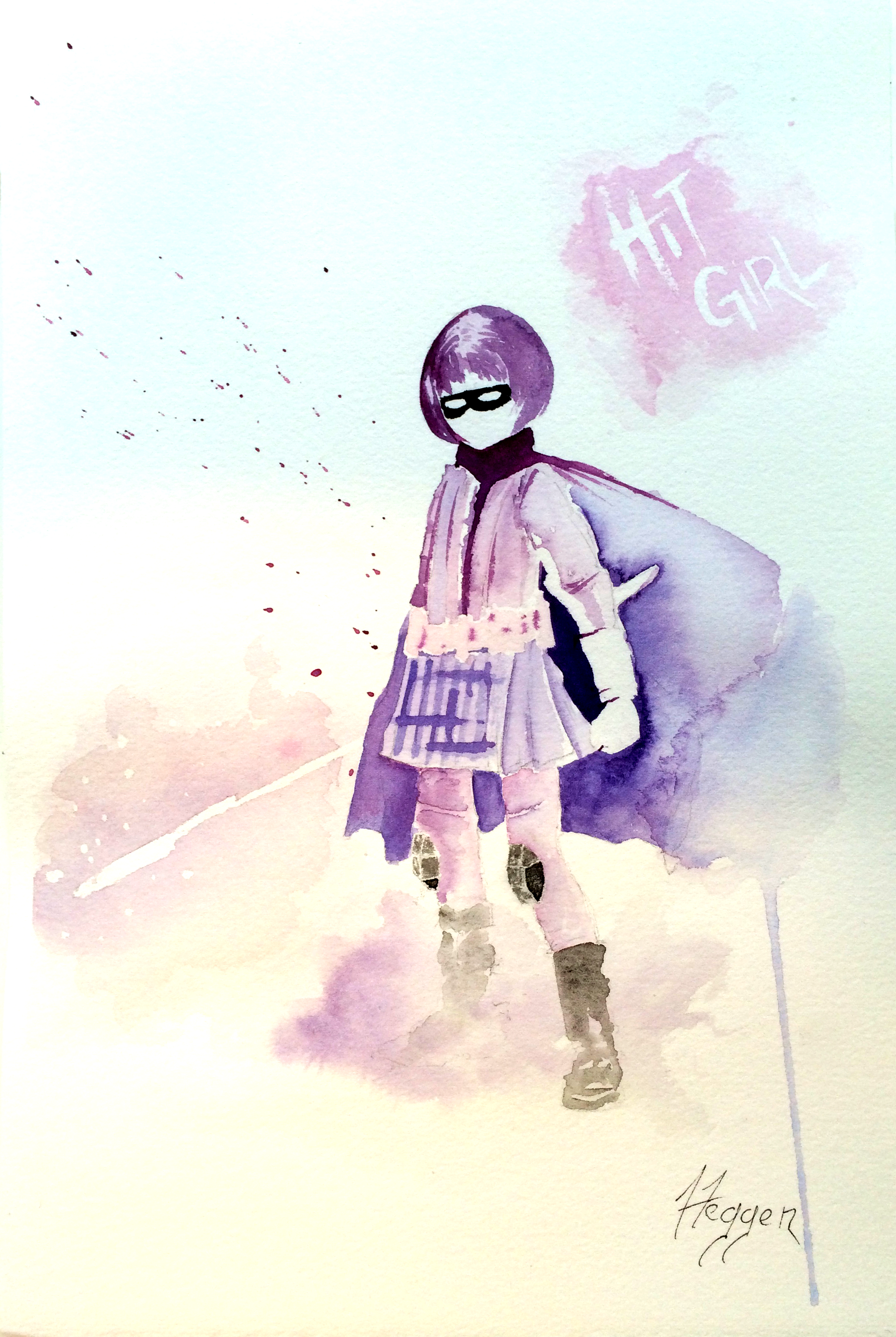 Hit-Girl greets you.