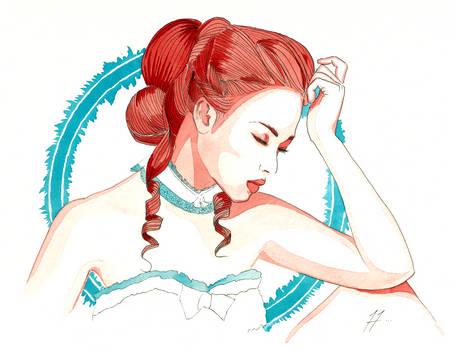 Western Girl - Comic Style