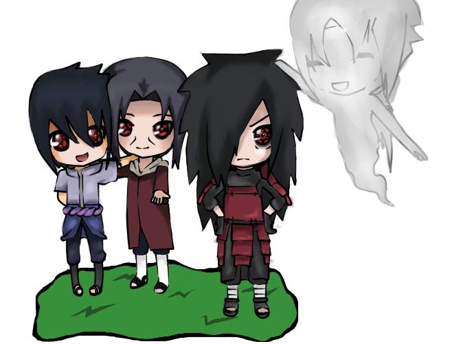 Chibi Madara Sasuke Itachi Izuna by XDeiDaX on DeviantArt