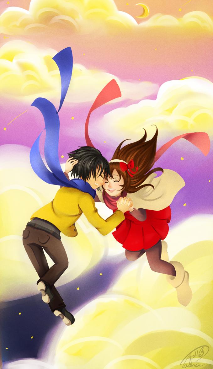 shooting stars by Ciel-san