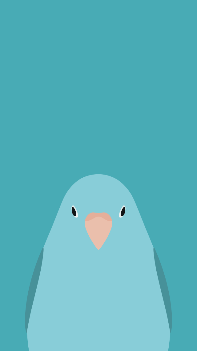 Parrotlet - bird wallpaper for iPhone by birnimal