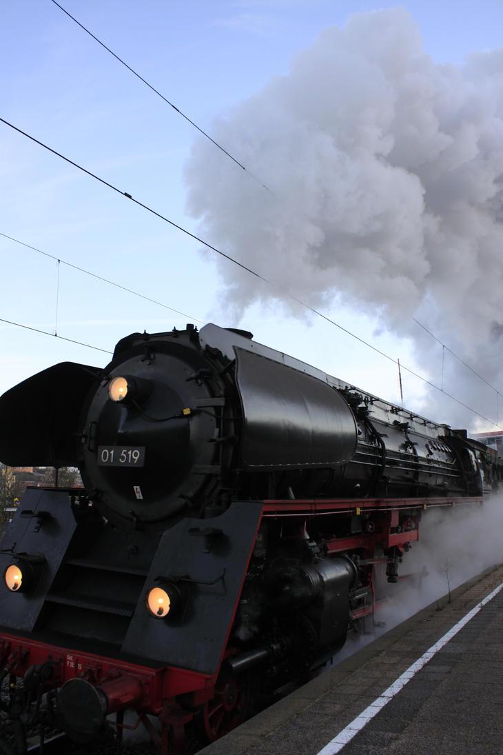 01 519 German steam locomotive by NeoArgos