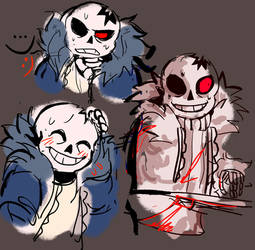 horrortale sans by r8diac