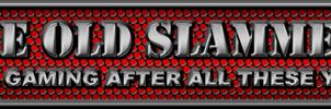 The Old Slammers website header