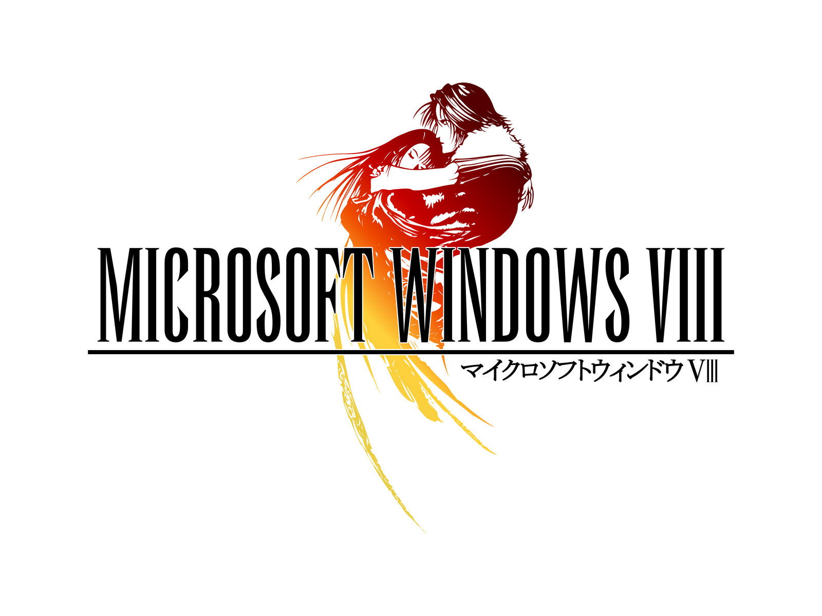 Final Fantasy VIII style Windows 8 Logo