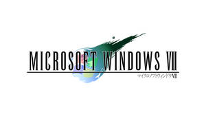 Final Fantasy VII style Windows 7 Logo 2.0