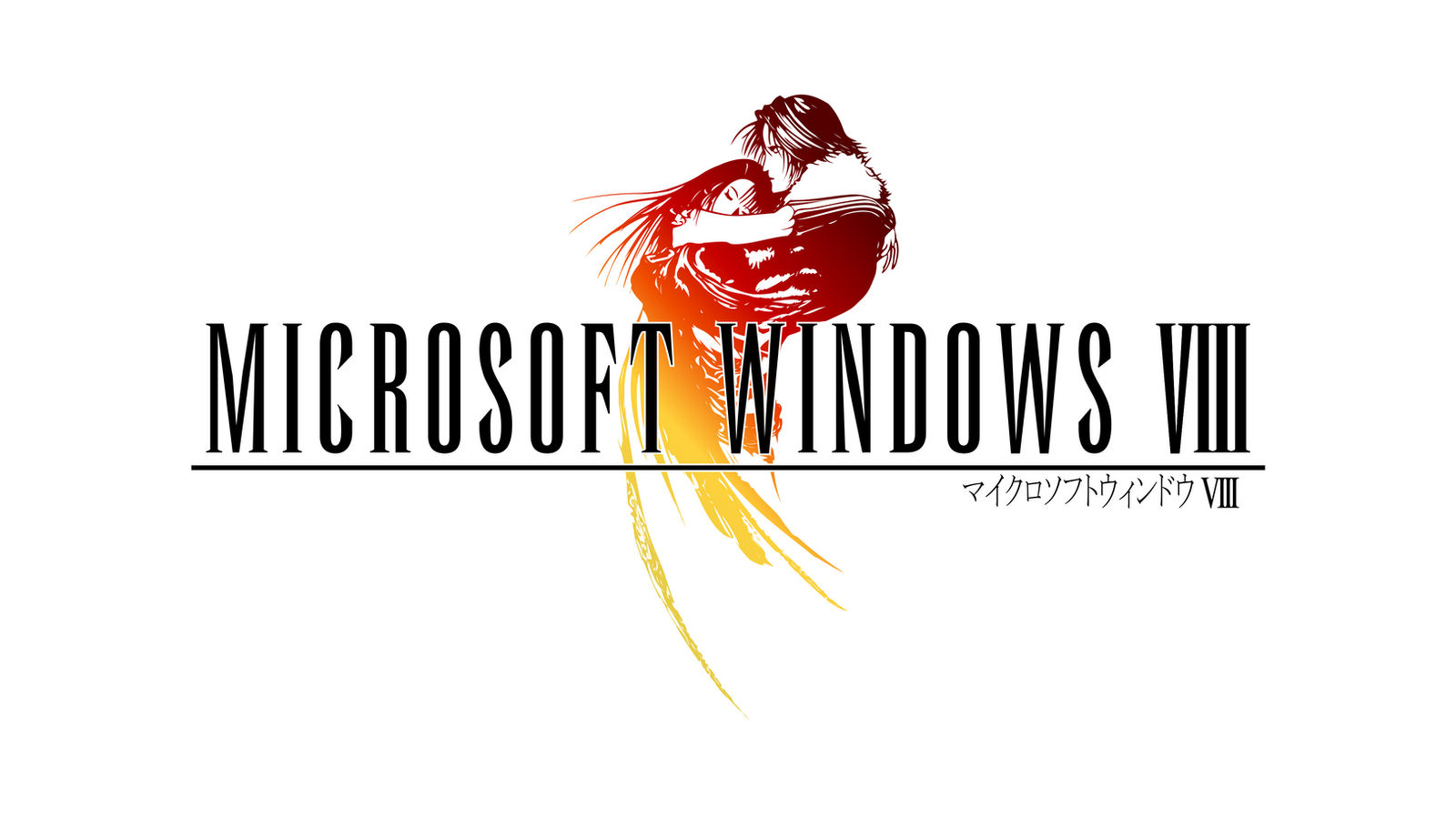 Final Fantasy VIII style Windows 8 Logo 2.0