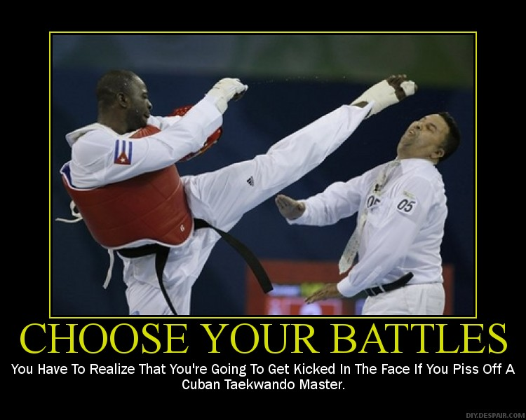 Pick Your Battles   simpleandy.   Chart Pick Your Battles