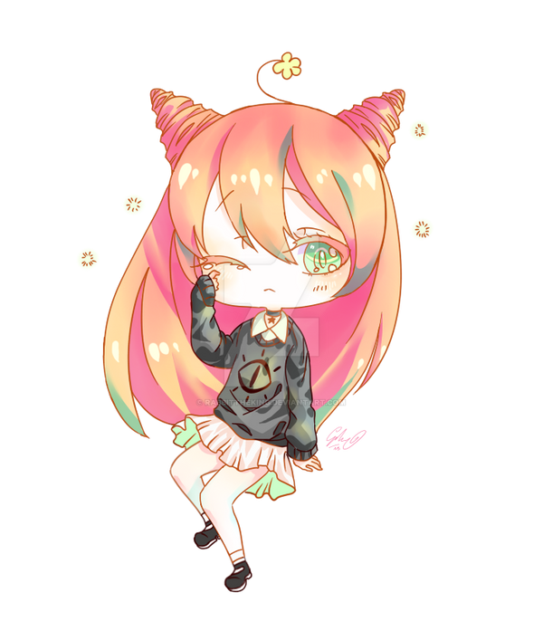 [Req chibi for Commission example] by rabbittheking