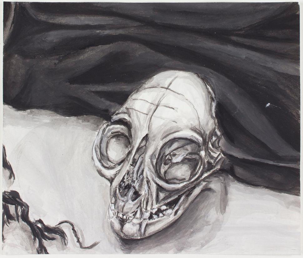 - Still Life - Skull - by TheEleventhMoonRose