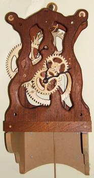 All wood clock movement 2