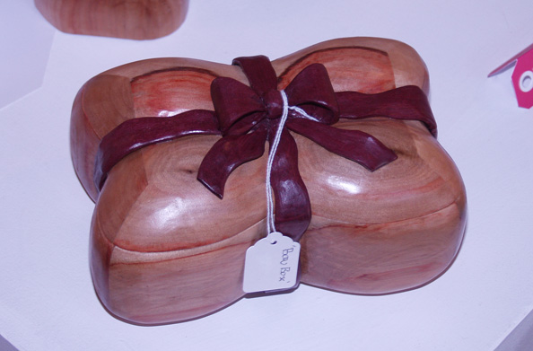 Purple Heart Bow Box by back2root