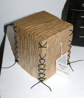 Stitched Cube Box by back2root