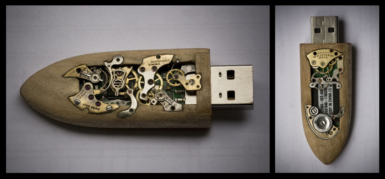 16GB Clockwork Memory Key by back2root