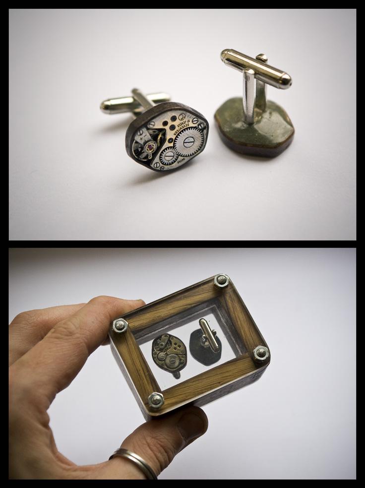 Clockwork Cufflinks... by back2root
