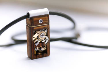 Mechanical Memory Pendant No3 by back2root