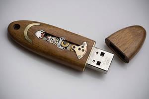 16GB Mechanical Flash Key - Hyedua by back2root