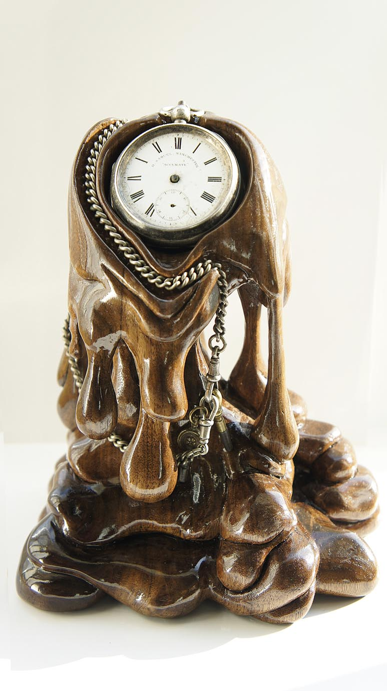 Melting Watch Stand by back2root