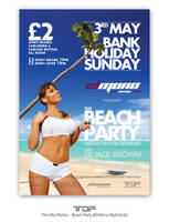 Beach Party Flyer by ALTereg0