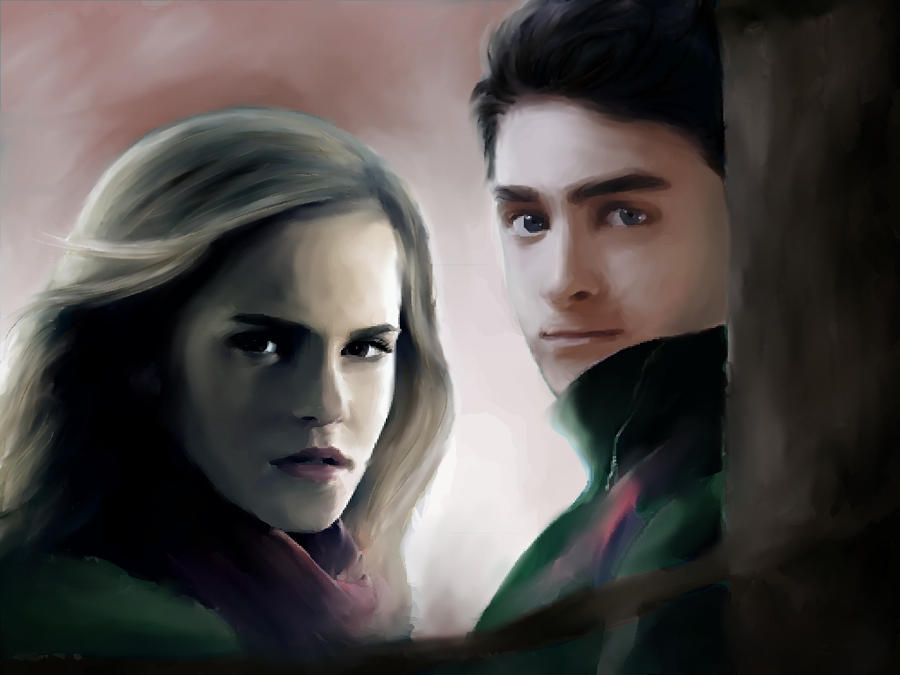 Harry and Hermione by Fabielove