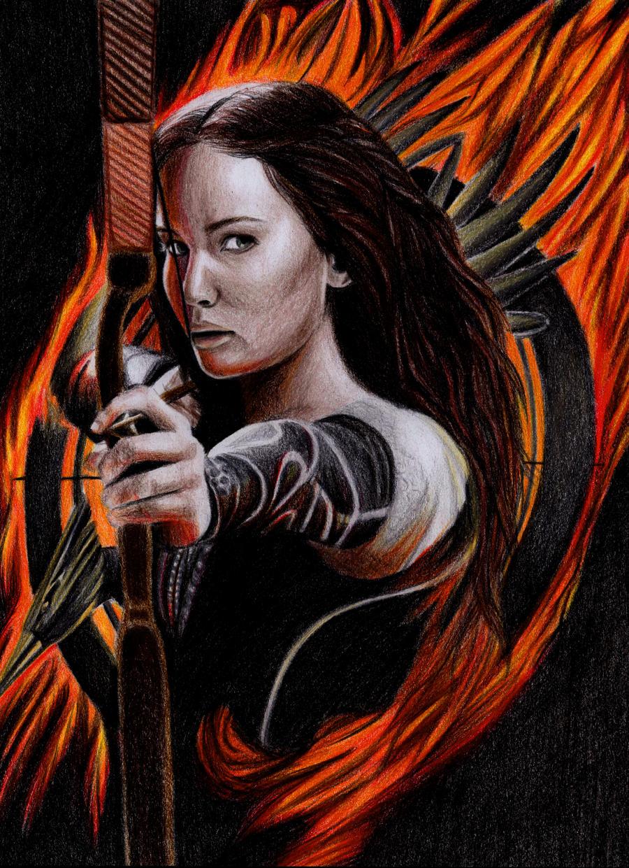 Katniss Everdeen - Catching Fire by Fabielove on DeviantArt