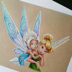 Tinkerbell and her sister -  boschcreations