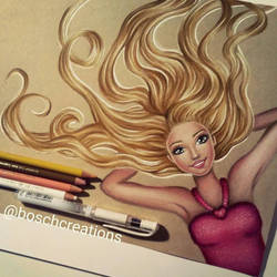Barbie - drawing